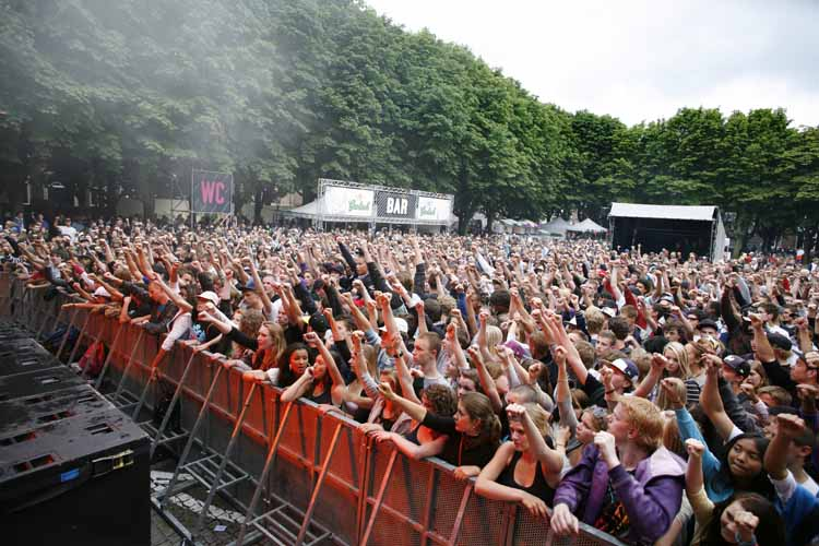 Het Beats and Roots Festival werd ondersteund door het Prins Bernhard Cultuurfonds. foto Fer Wijnmaalen