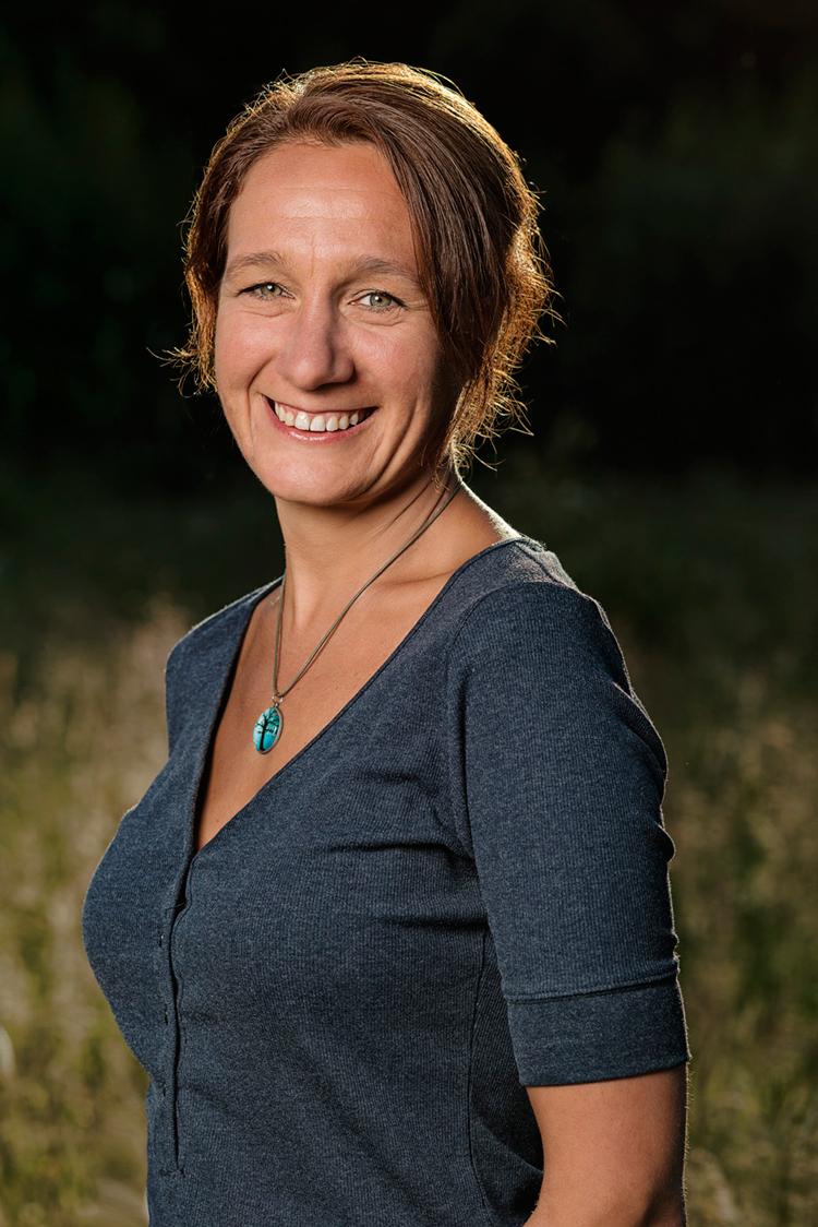 Sandra Bernart. foto Frank Poppelaars