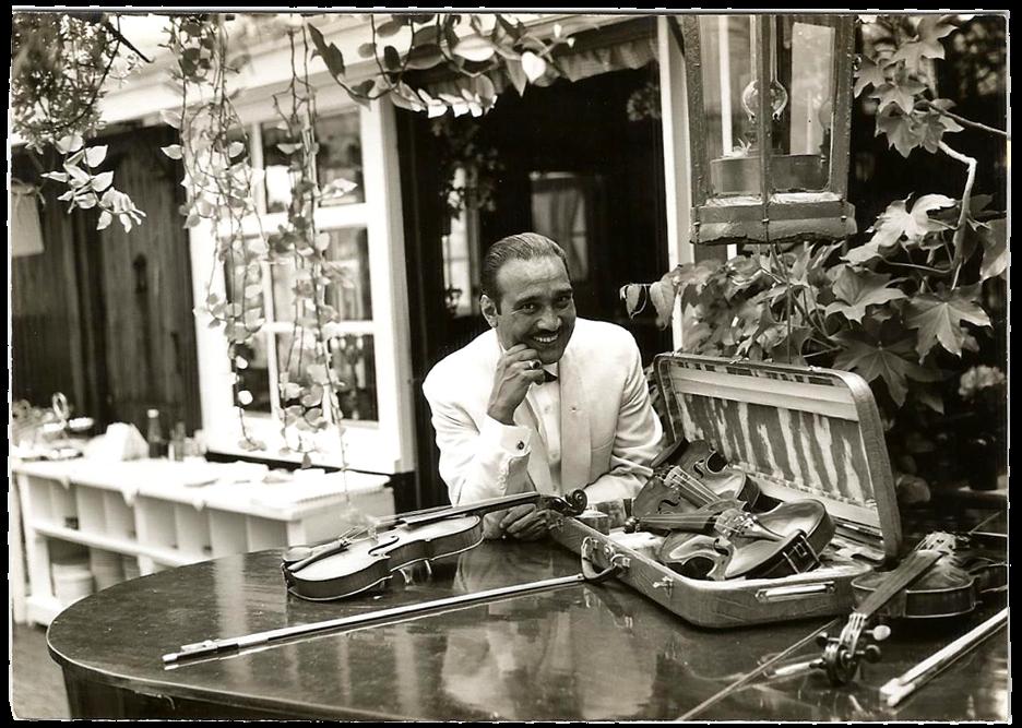 Morschi, vader van Bero Weis en primas van zijn orkest. foto privé-bezit Bero Weis