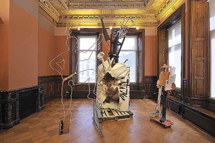 David Bade (1970), Liefde maakt Blind, 2007. Collectie Museum Jan Cunen. foto Museum Jan Cunen