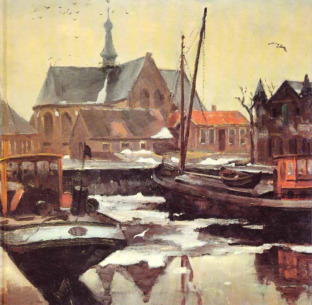 Haven van Waalwijk door Theo van Delft.