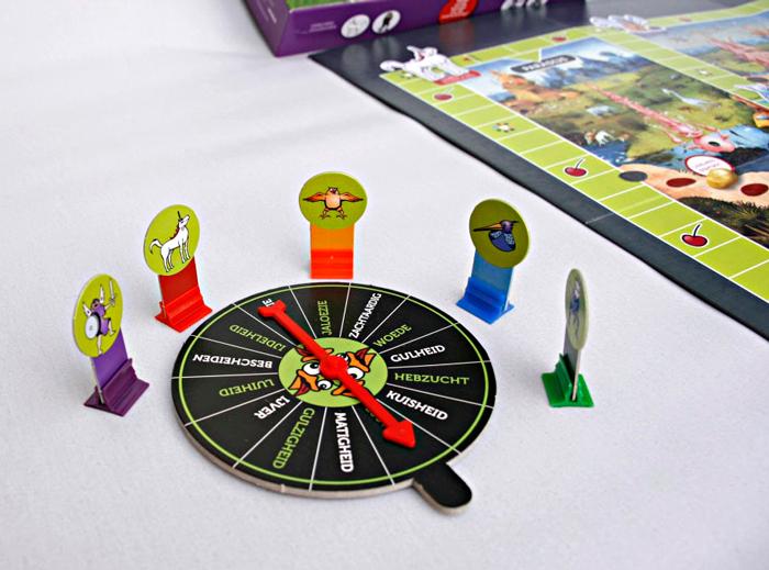 De draaischijf uit Het Zeven Zondenspel. foto Birgitta Herman