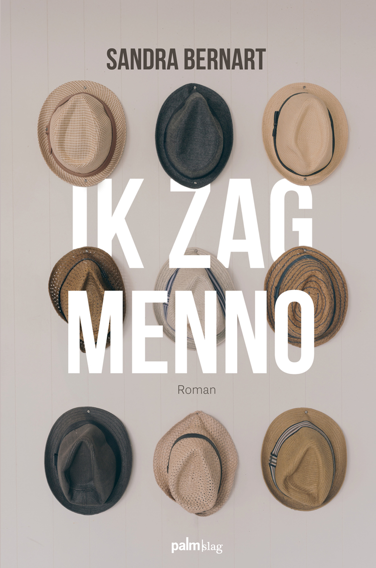 Boekomslag Ik zag Menno door Sandra Bernart.