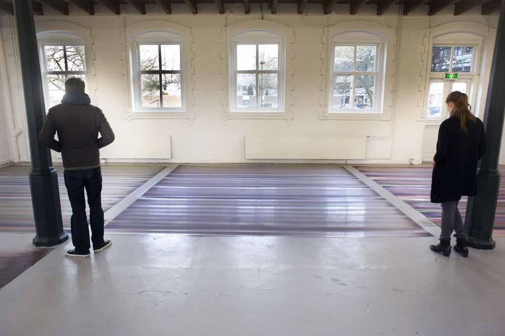 Tentoonstelling van Ton Boelhouwer. foto Piet den Blanken