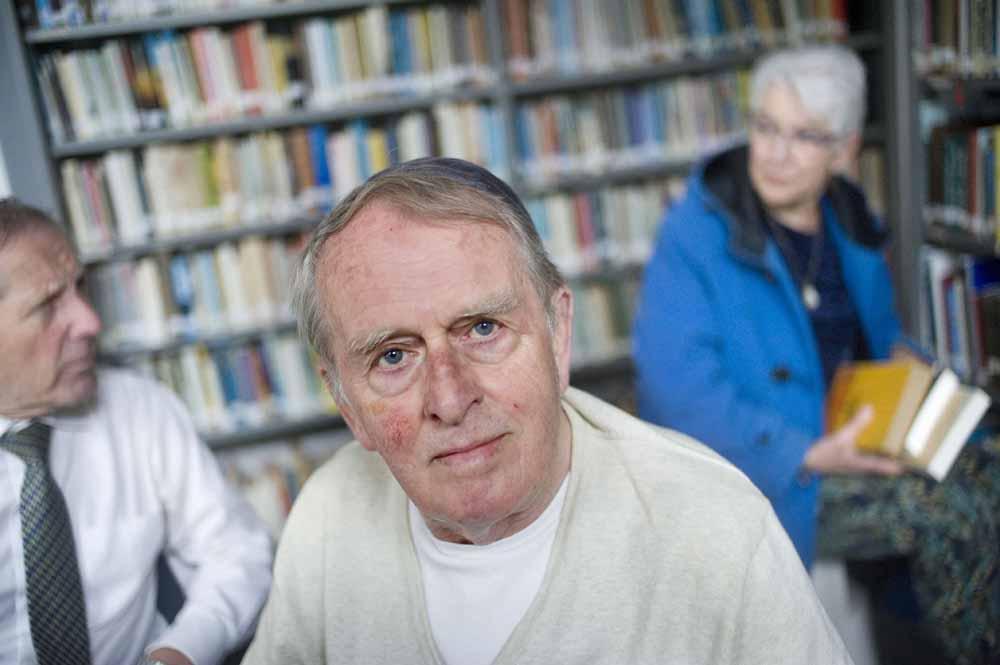 Jan Bader heeft niet alleen monnikenwerk verricht, maar ook een levenstaak vervuld. Foto Piet den Blanken