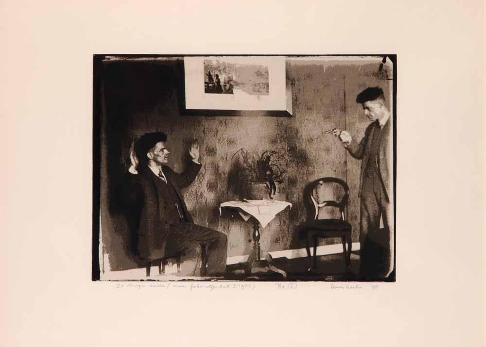 Teun Hocks, Tweemaal mijn vader, gedrukt op papier, 1978, collectie Gemeente Breda.