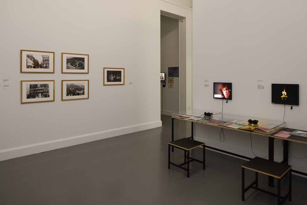 Installation view The 1980s. Today's Beginnings. Talking Back, C