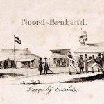 Schermwedstrijd en andere schetsen uit het kampleven, 1831 (Brabant-Collectie)