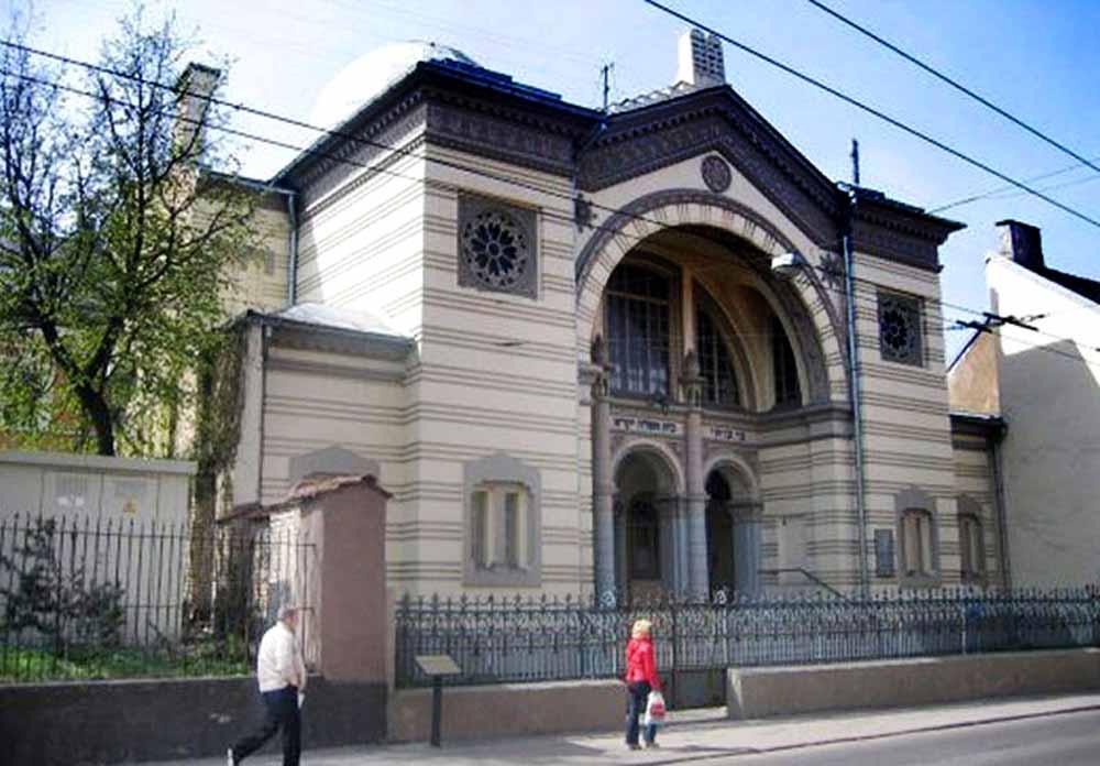 De laatste synagoge in Vilnius.