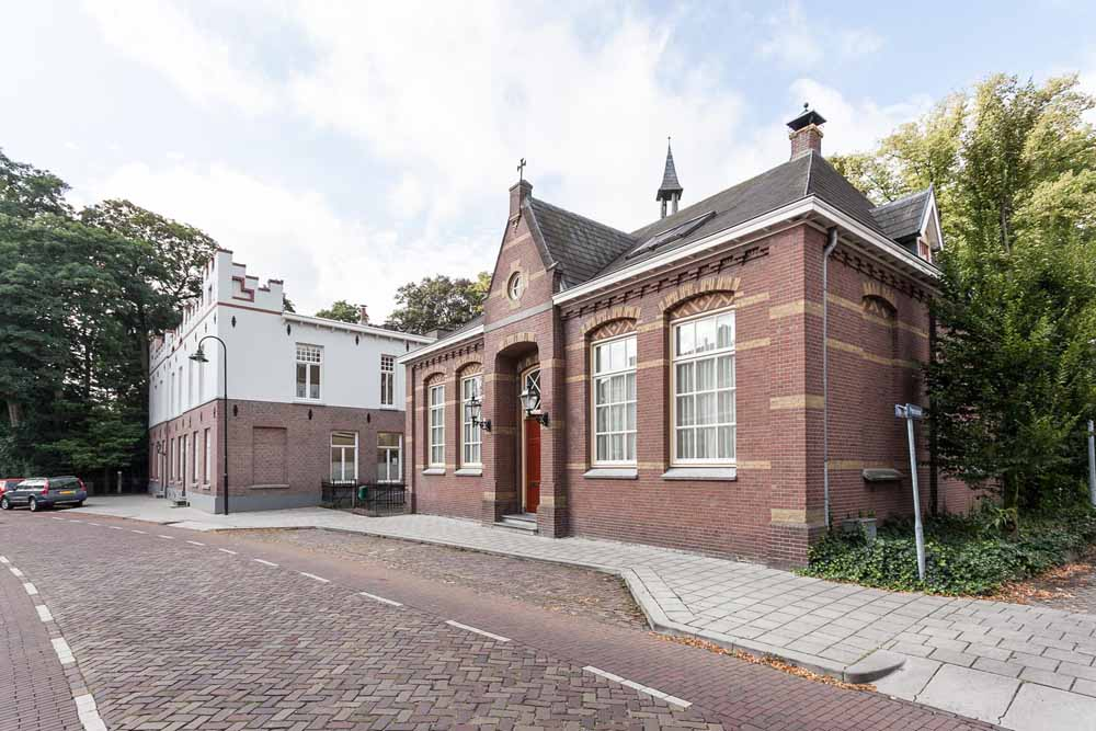 a8241d6b2ec Vooraanzicht van het gebouw dat ten onrechte als de Latijnse School bekend  staat. foto collectie Peter van Lanen