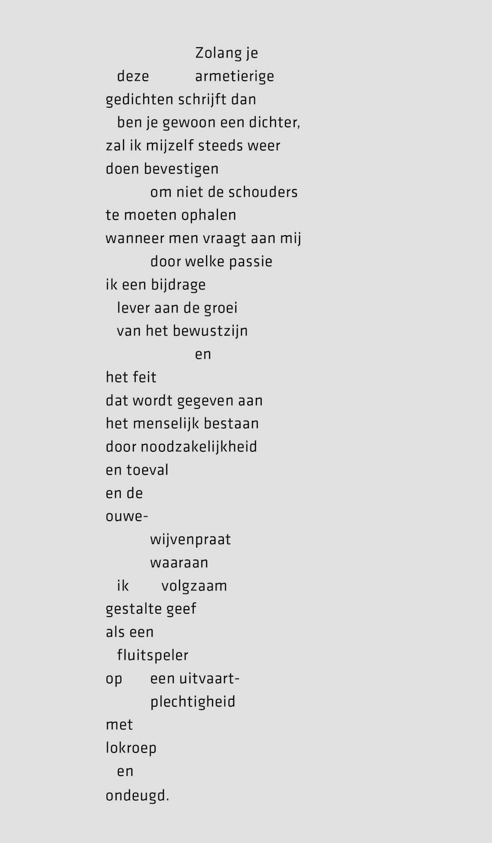 Met Deze Armetierige Gedichten Gewoon Een Dichter Brabant